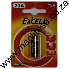 Excell 23A 15V Z-Mang  Battery Blister - 1 Pce Card