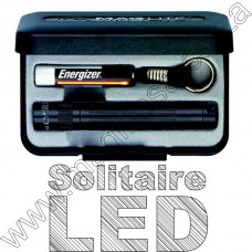 Black LED Solitaire Maglite Box