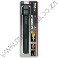 Black Maglite LED 3D Cell Flashlight
