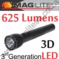 Maglite ML300L LED 3rd GEN 3D Black