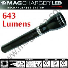 643 Lumen Rechargeable LED Maglite Flashlight