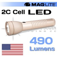 490 Lumen ML50L 2C Cell Maglite Coyote Tan