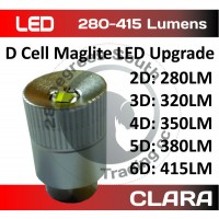 280 to 415 Lumen LED 3-6D Cell Upgrade Module