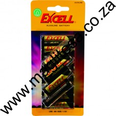 EXCELL AA (LR6) ALKALINE BATTERIES - 12 PER PACK