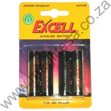 Excell AAA (LR03) Alkaline Batteries - 4 per pack