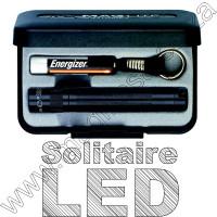 Black LED Solitaire Maglite