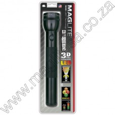 Black Maglite LED 3D Cell Flashlight