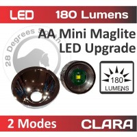 55-180 Lumen AA Dimmable LED 3V 1.5W