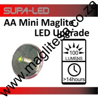 LED UPGRADE 2AA MINI MAGLITE 100 LUMENS