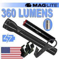 3D Maglite - 360 Lumen LED - Rechargeable USB Battery Stick