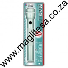 SILVER MAGLITE 3D CELL FLASHLIGHT