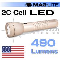 490 Lumen ML50L 2C Cell Maglite Coyote Tan